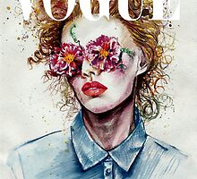 vogue cover by doriana