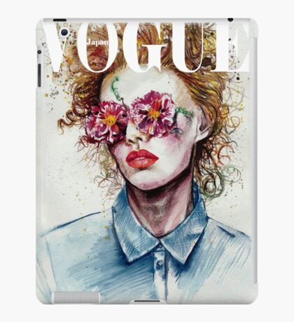 vogue cover iPad Case/Skin