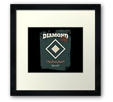 Diamond City Framed Print