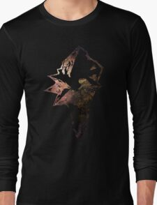 Final Fantasy IX logo universe Long Sleeve T-Shirt