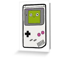 Retro Gameboy Character Greeting Card