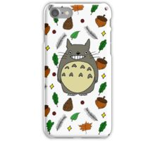 Nature X Totoro  iPhone Case/Skin
