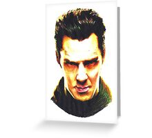 Star Trek Into Darkness - Khan Greeting Card