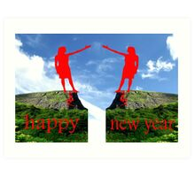 HAPPY NEW YEAR 36 Art Print