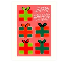 HAPPY NEW YEAR 39 Art Print