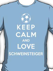 Keep Calm And Love Schweinsteiger T-Shirt
