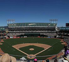 Oakland Coliseum by TERRIBLETRISTAN