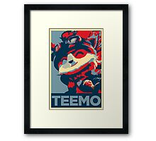 TEEMO (League of Legends) Framed Print