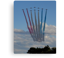 The Red Arrows 3/3 Canvas Print