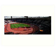 Olympic Stadium Art Print