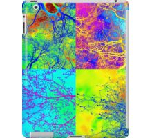trees in london andy warhol style patchwork iPad Case/Skin