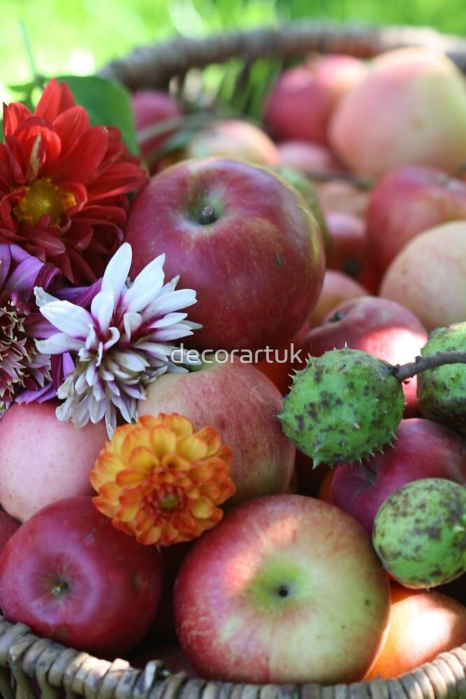 Autumn in a Basket by decorartuk