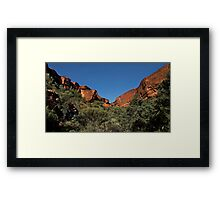 Imposing Kings Canyon Framed Print