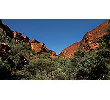 Imposing Kings Canyon Photographic Print