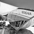 Boat Repair - Tunisa by Alan Robert Cooke