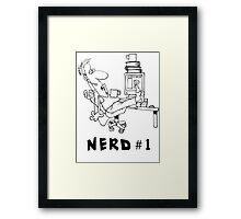 Nerd no.1 Framed Print