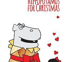 Lauren's Hippo by samedog