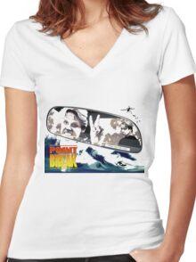 Point Break 2015 utah get me 2 Women's Fitted V-Neck T-Shirt