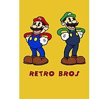 Retro Bros Photographic Print