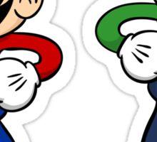Retro Bros Sticker