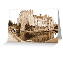 Hever Castle Greeting Card