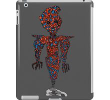 orange flying robot art print desing comic funny monster iPad Case/Skin