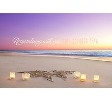 October 15th - Remembering With You Photographic Print