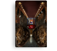 Steampunk - Dystopian society Canvas Print