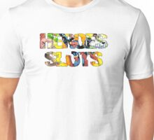 Super Heroes Slot Design Unisex T-Shirt