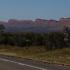 The West MacDonnell Ranges by Trudi Skinn