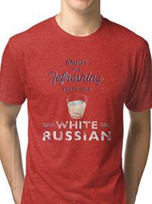 Enjoy the Refreshing Taste of a White Russian Tri-blend T-Shirt
