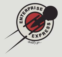 Enterprise Express...Boldy go... by ikarus³ .
