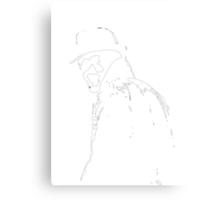 watchmen rorschach mask film  Canvas Print