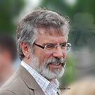 Gerry Adams Bobby Sands by Declan Carr