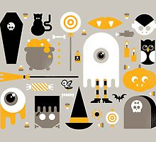 Cute Halloween Treats by Gretchen Braun