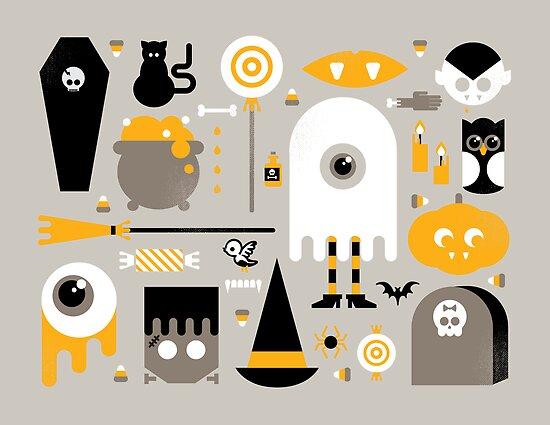 Cute Halloween Treats by Gretchen Braun