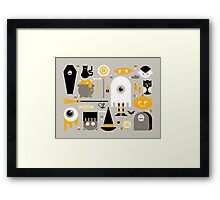 Cute Halloween Treats Framed Print