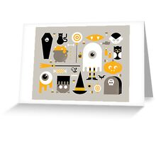 Cute Halloween Treats Greeting Card
