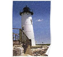 Fort Constitution Lighthouse Poster
