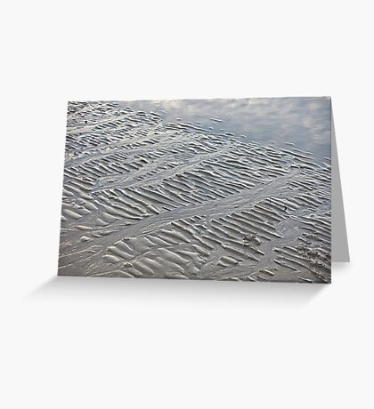 Silver Trails Greeting Card
