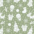 soft christmas pattern by BoYusya