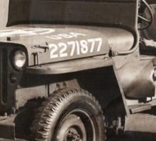 E506 Jeep HQ Company Sticker