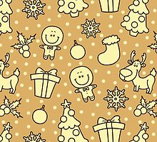christmas pattern by BoYusya