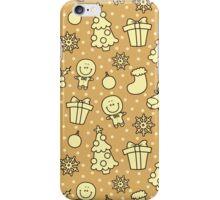 christmas pattern iPhone Case/Skin