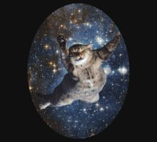 Cat in space - iCase available by enerfereth