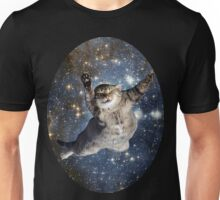Cat in space - iCase available Unisex T-Shirt