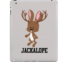 Cute Cartoon Jackalope iPad Case/Skin
