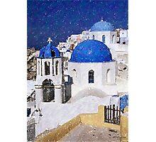 Greece Landscape   Photographic Print