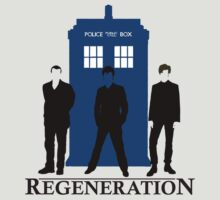 Doctor Who Regeneration by ddjvigo