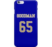 GOODMAN 65 Jersey iPhone Case/Skin